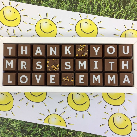619e8694981dd Thank You Teacher Box of ChocolatesPersonalised Teacher