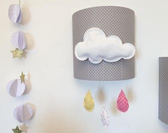 Applique wall cloud