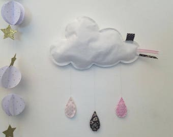 Cloud fabric drops