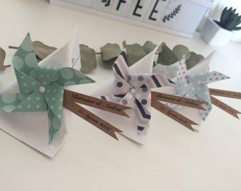 Box dragees windmill Original for weddings & christenings