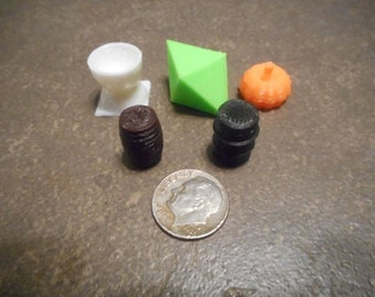 3D printed Board Game tokens