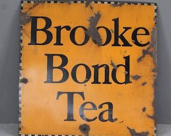 Brooke Bond Tea Enamel Sign