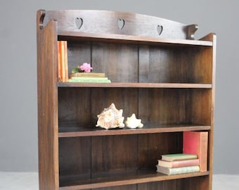 Liberty & Co Arts Crafts Oak Bookcase