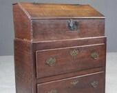 Antique Oak Bible Box Base