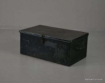 Vintage Black Tin