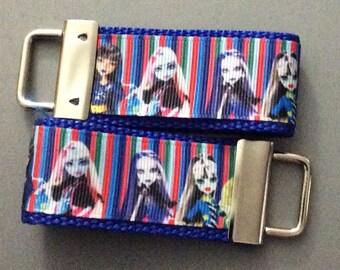 SALE *** Monster High Key Fobs/Zipper Pulls *** SALE