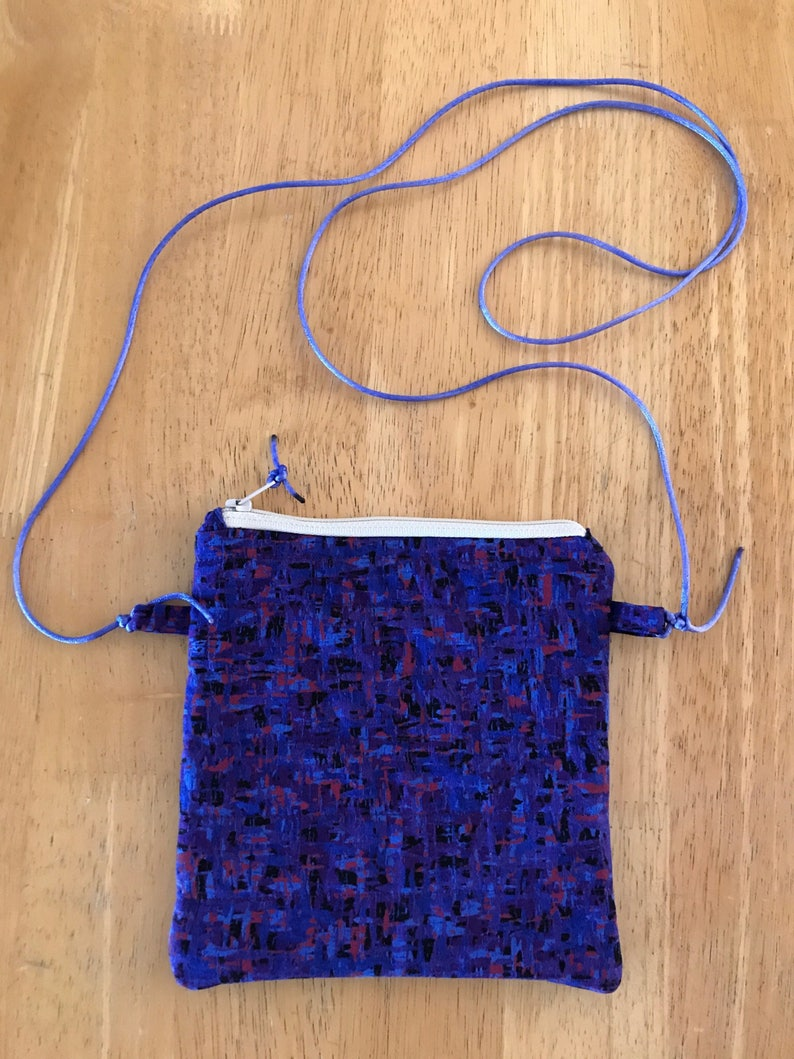 Purple Handy PouchPurse small