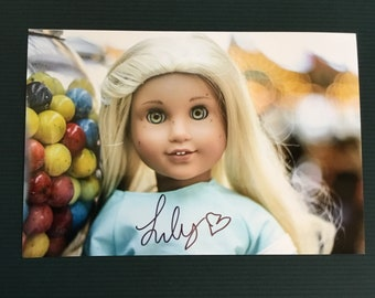 4x6 Juniperilly signed photo