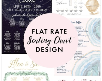 Flat Rate Seating Chart Design