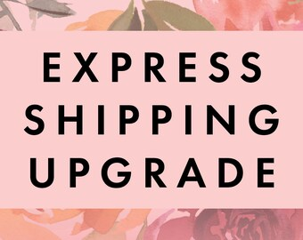 Domestic Express Shipping Upgrade for Place Cards
