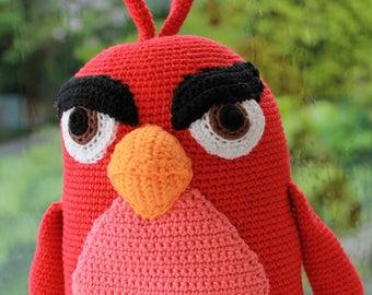 Tutorial Amigurumi Angry Bird : Angry bird crochet bag jeni s board bags crochet