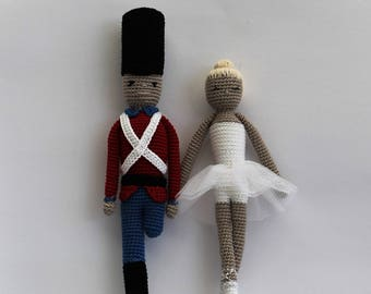The Tin Soldier and the Ballerina crochet pattern