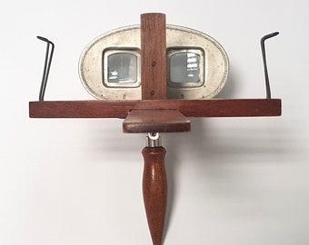 Stereoscope Sun Sculpture Trademark, Stereocard Viewer from 1910's, Underwood & Underwood Warrantied