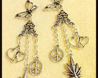Hippie butterfly dream peace