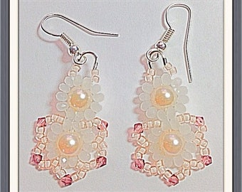 MWL Pretty Pink and Purple earrings