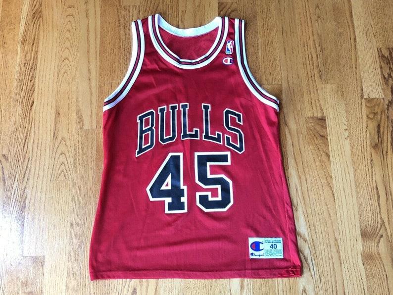 buy online b47a6 6d9a2 Vintage Michael Jordan 1995 Chicago Bulls #45