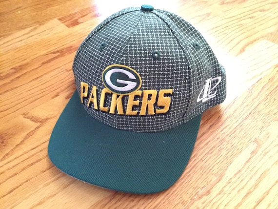 Vintage 90s Green Bay Packers Logo Athletic Snapback Hat     71d70bc91