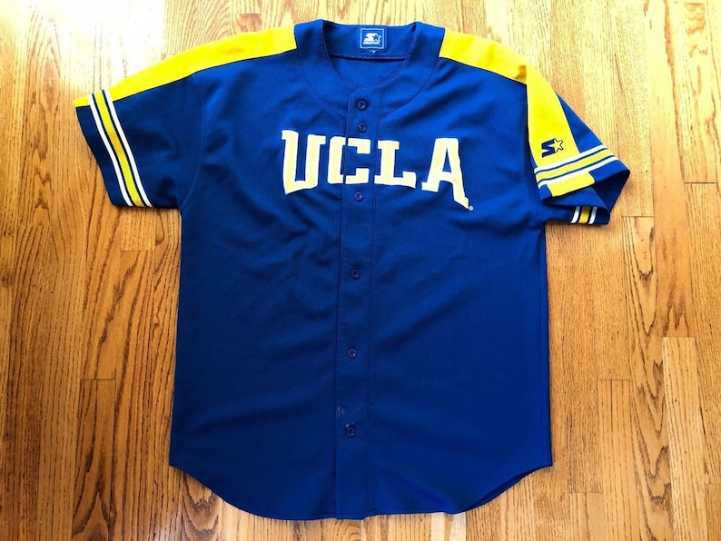 best cheap 1eb4a fa436 Vintage 1990s UCLA Bruins Stitched Starter Baseball Jersey Mens XL/XXL /  Good Cond / ncaa los angeles lakers dodgers clippers kings rams