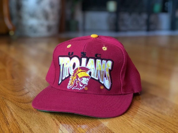 Vintage 1990s USC Trojans Wool Snapback by The Game  192c739a694a