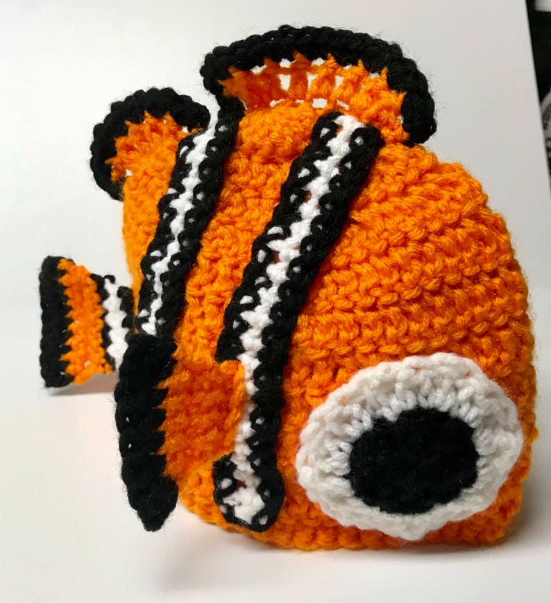 5a0526728809d Finding Nemo Inspired Hat Clownfish Hat Fish Hat Winter