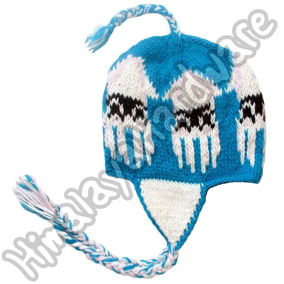 Sombrero tejido en lana Blooper: Super Mario Bros nes nintendo | Etsy