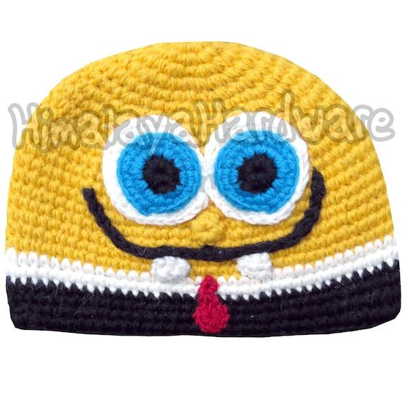 Spongebob Schwammkopf Mütze Häkeln Etsy