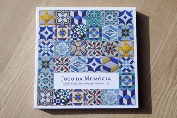 Gioco di memoria piastrelle portoghesi etsy