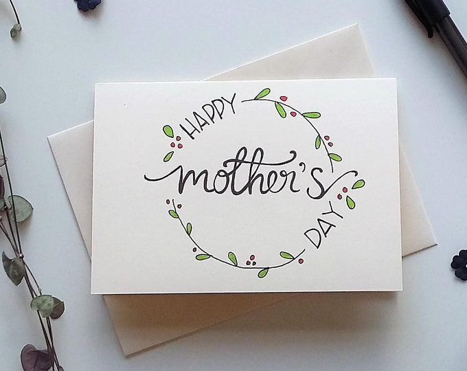 Featured listing image: Happy Mother's Day card