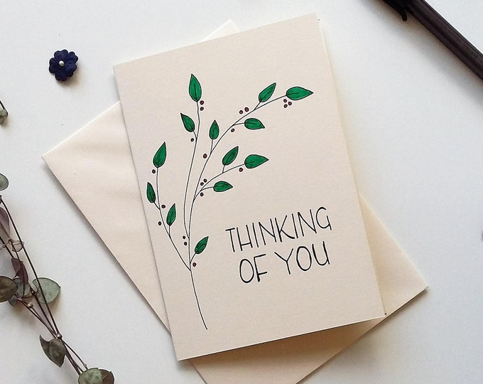 Featured listing image: Thinking of you - with sympathy card