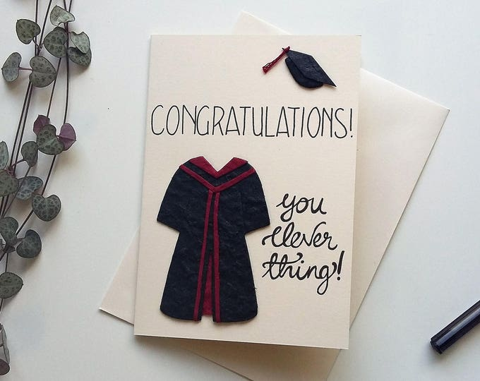 Featured listing image: Congratulations Graduation Card
