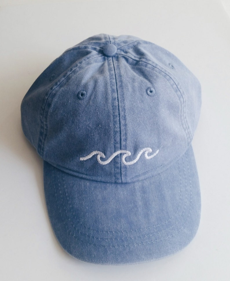 Three Waves Baseball Cap  Periwinkle image 0