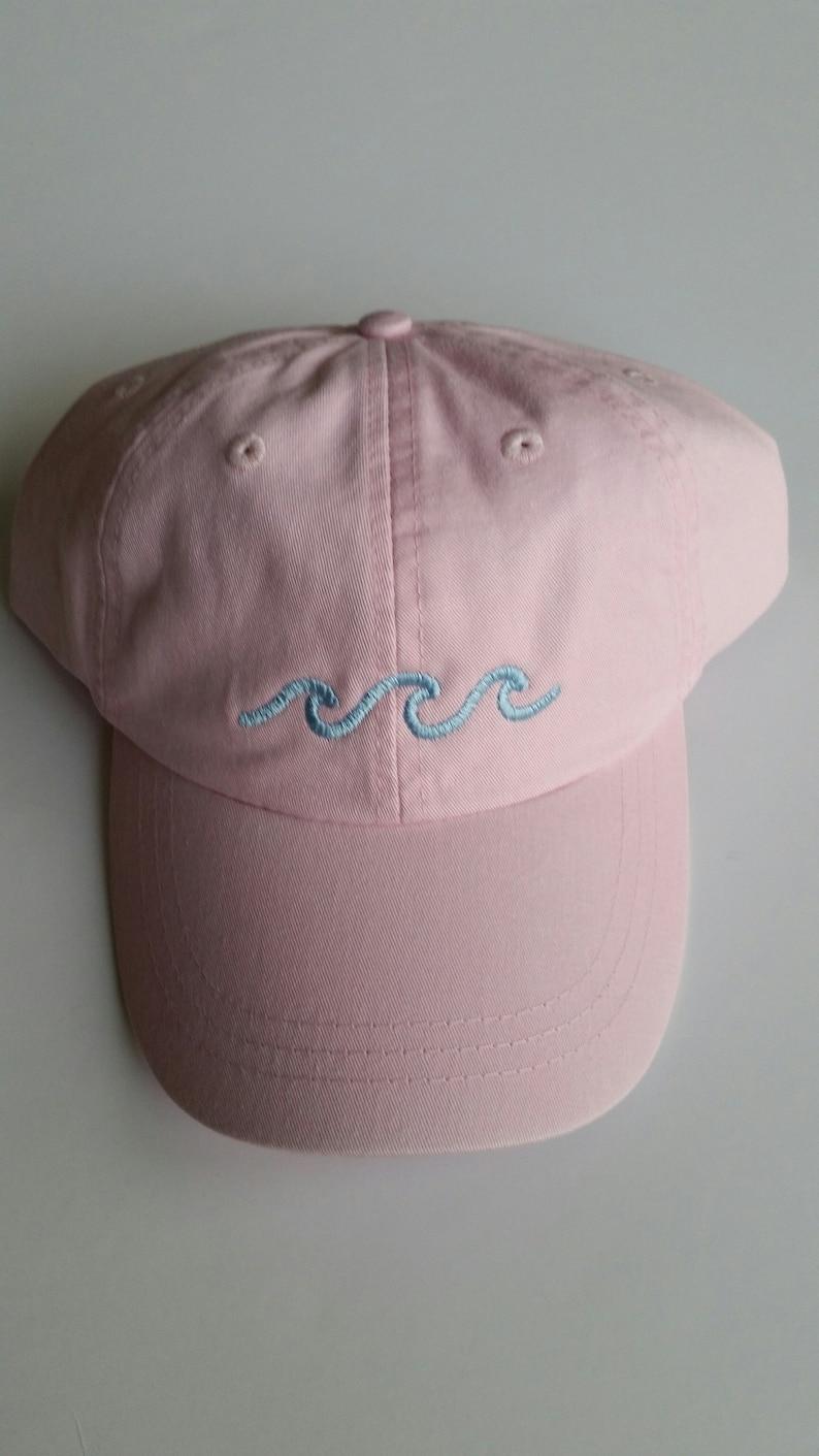 Three Waves Baseball Cap Pink  9afb1d3cb694