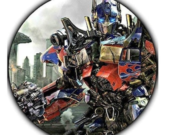 Transformers Edible Image Photo Sugar Frosting Icing Cake Topper Sheet Birthday Party 75 Inch Round