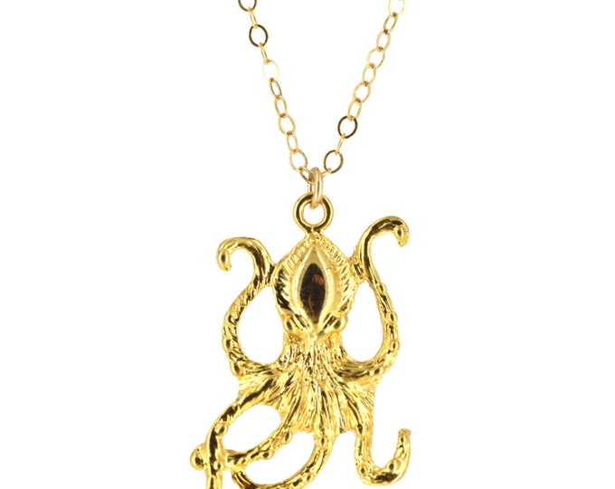 50% OFF ~Octopus Charm Necklace
