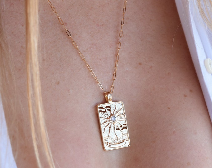 "Stellar Charm Necklace/20"""