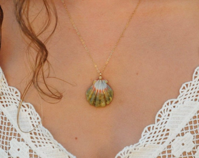 Moonrise Shell/14k Gold Filled/18""