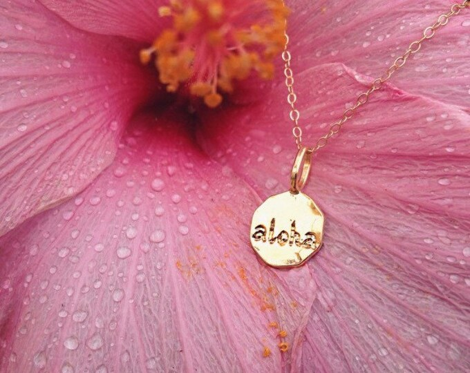 Aloha Charm Necklace