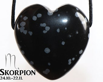 on leather strap  cotton cord Silver eye necklace --- stone size: 29 x 29 mm  1.14 x 1.14 inch heart
