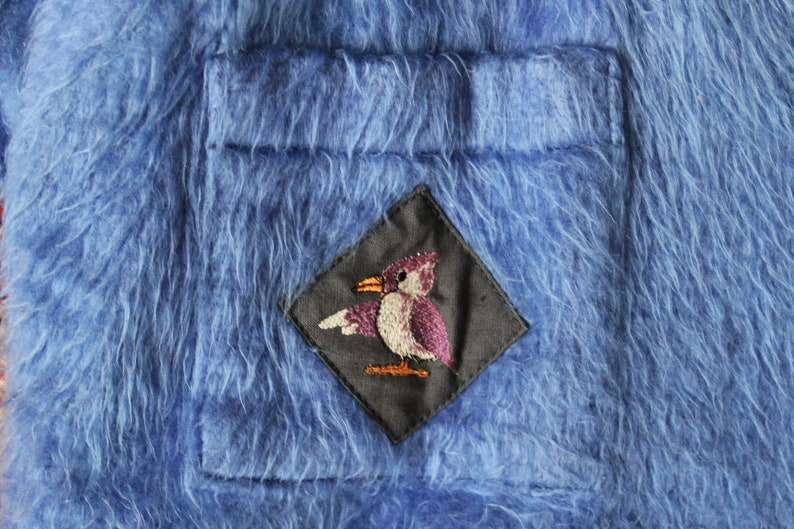 fbe397ace6e7 Soviet Baby Sleeping Bag Blue Faux Fur Baby Bunting Bag