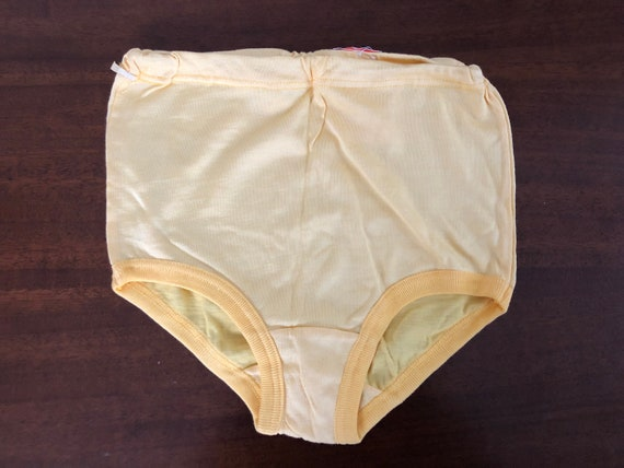 Factory Tag Vintage Soviet High Waist Ribbed Cotton Underpants Size XXS Set of 2 NOS Soviet Cotton Underwear Made in USSR Collectible