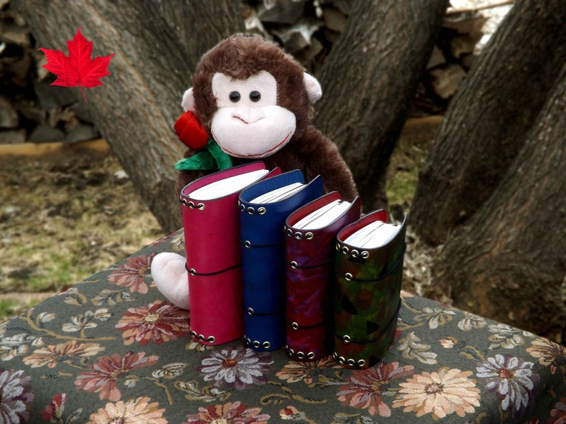 Leather Chunky Monkey 4 SIZES  A6  Fieldnotes  Passport image 0