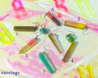 PARADISE LUST Artist Handmade Resin Jewelry by Hui Ma