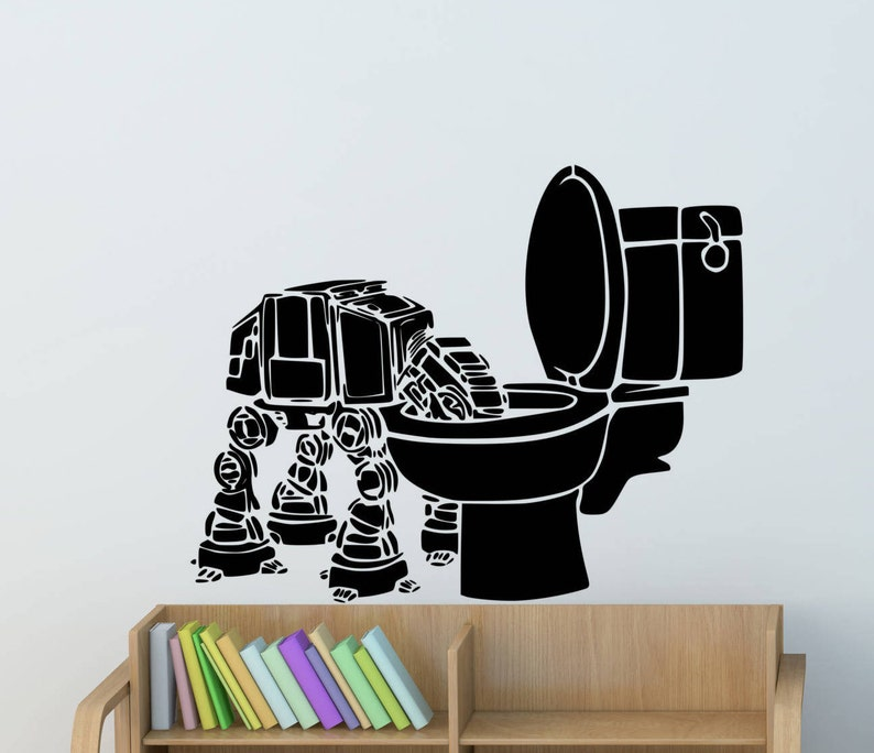 Atat Wall Decal Star Wars Wall Decals Large Walker Bedroom Wall Decals American Wall Designs