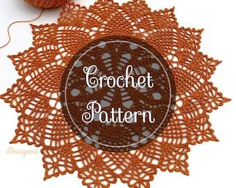 Eversong Crochet Doily Pattern,  PDF Digital Download