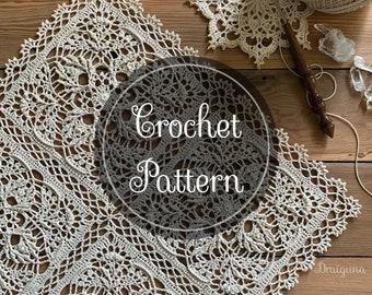 Sylvanweave Square Crochet Pattern, PDF Digital Download