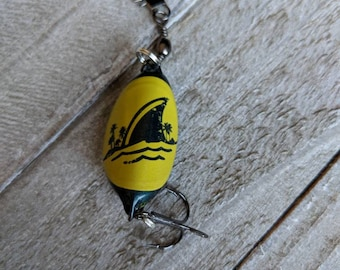 Landshark Fishing Lures | Beer Bottle Cap Lure | Father's Day Gift | Fisherman Gift