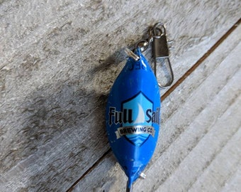 Full Sail Fishing Lures | Beer Bottle Cap Lure | Father's Day Gift | Fisherman Gift