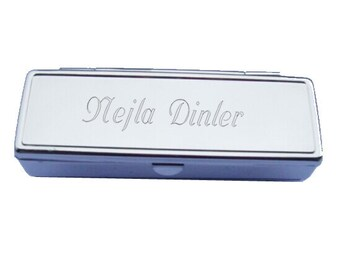 Personalized Lipstick Box - Custom Engraved Letters