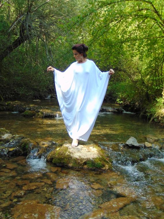 Engel Kleid/weiß Abaya Dress/Plus Größe Kaftan | Etsy