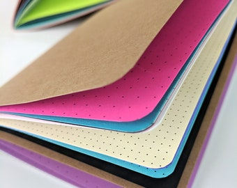 Junque Insert Notebook - Mixed Paper Travelers Notebook Insert - 8 Sizes
